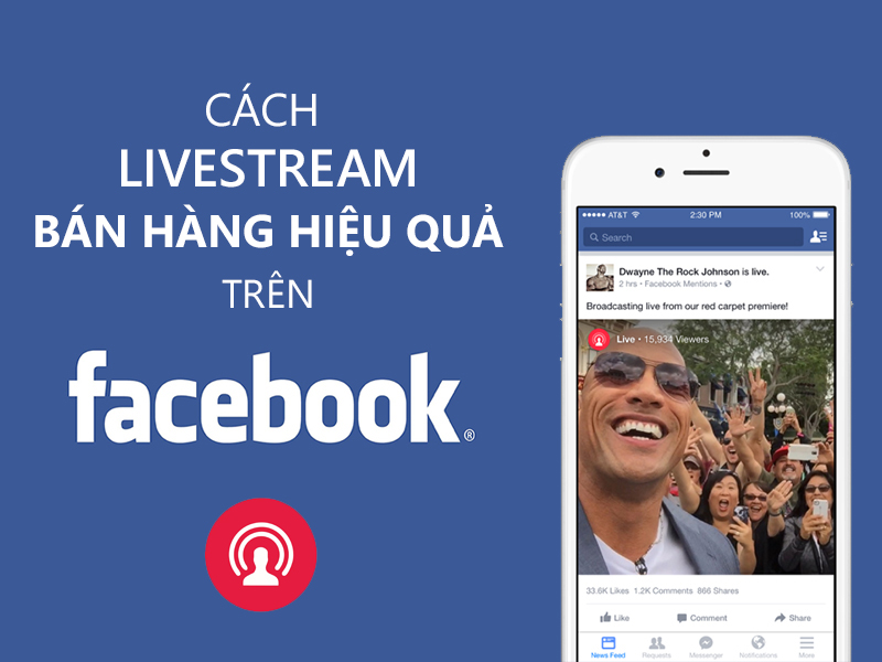 Live stream Facebook như thế nào là hiệu quả